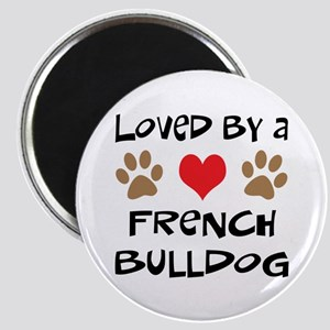 Loved By A French Bulldog Magnet